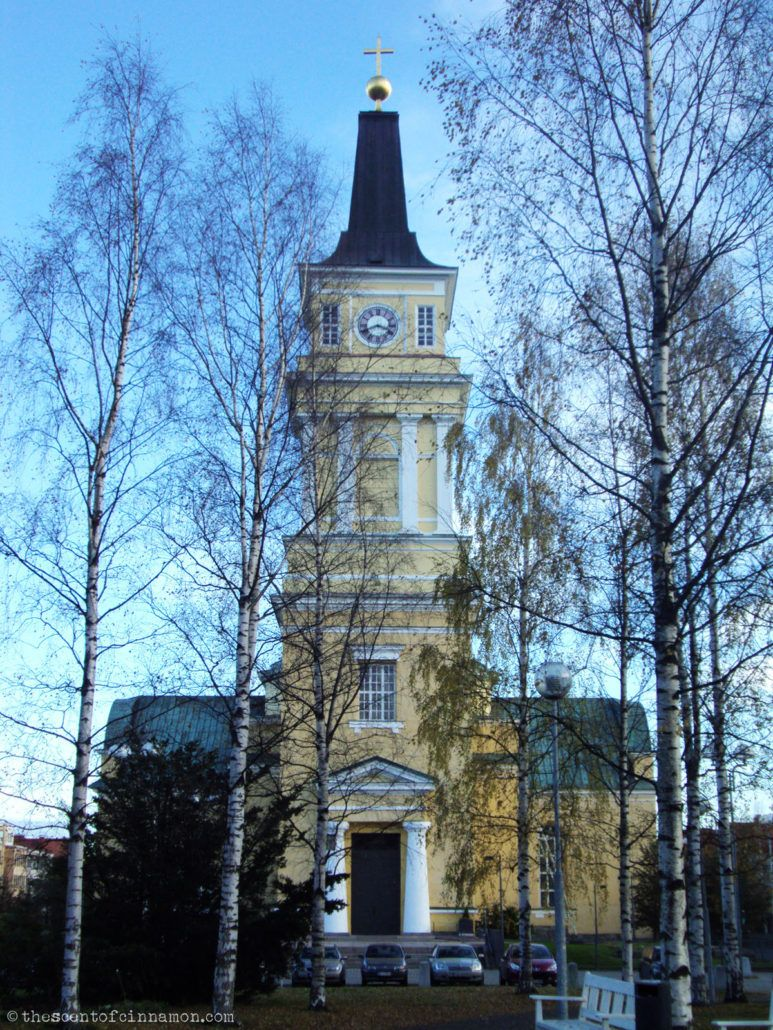 Oulu Church - The Scent of Cinnamon