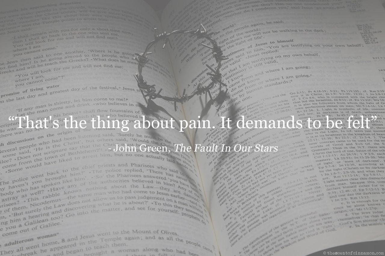pain john green