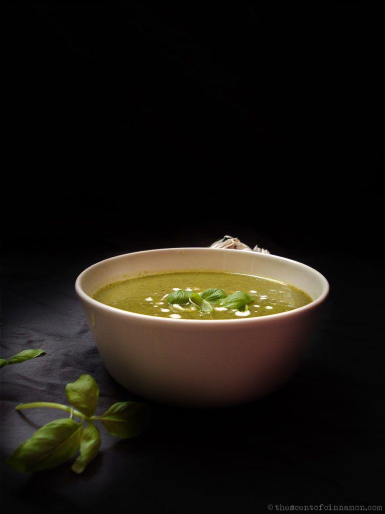 courgette-soep-basillicum