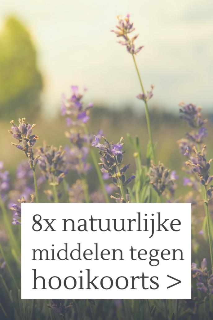 natuurlijke middelen tegen hooikoorts!