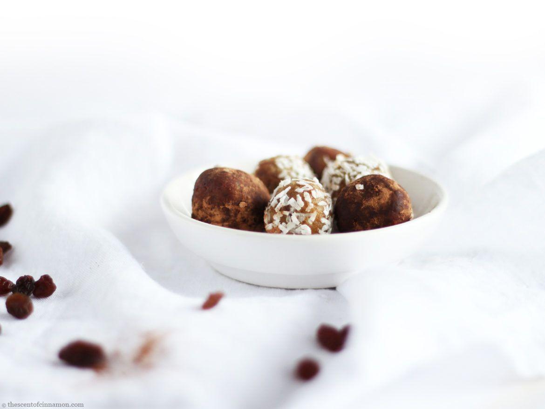 Recept voor Ayurvedische Bliss Balls